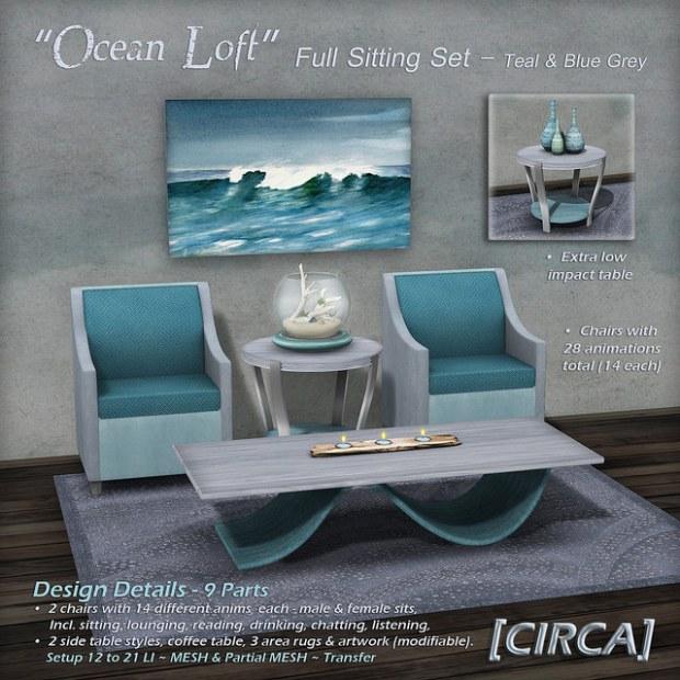 Circa - Ocean Loft set