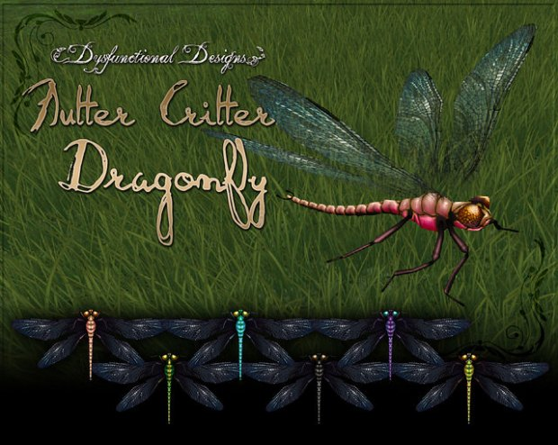dYSfunctional Designs - dragonfly critter - FLFs