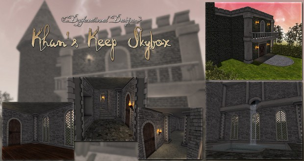 Dysfunctional Designs - Khans Keep Skybox - we love roleplay