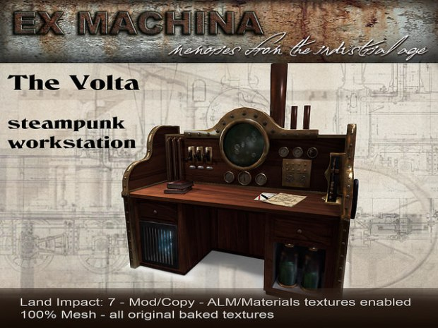 Ex machina - volta workstation