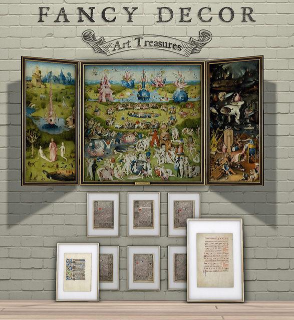 Fancy Decor - Art Treasures - The Showroom