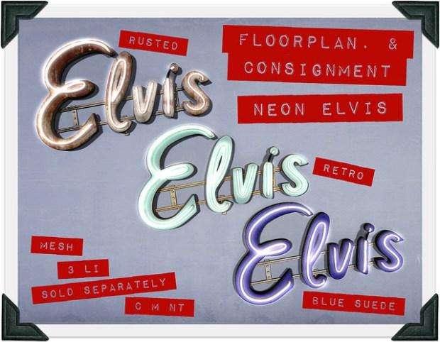Floorplan - Neon Elvis - Shiny Shabby
