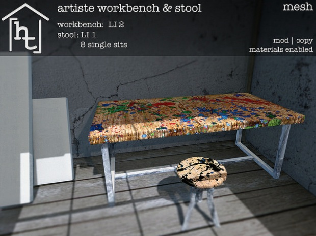 HT home - artiste workbench - challenge