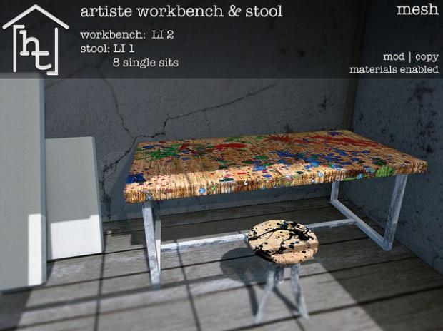 HT home - artiste workbench - challenge