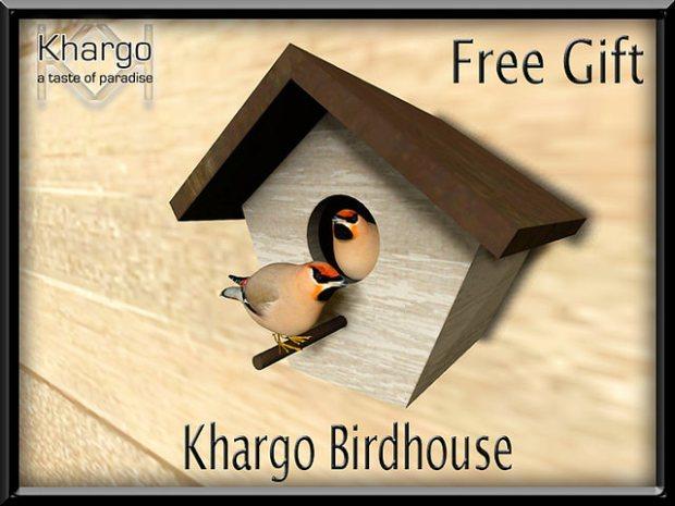 Khargo - birdhouse - moving gift