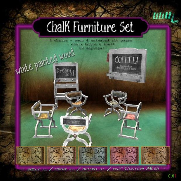 LD - Chalk Furniture Set