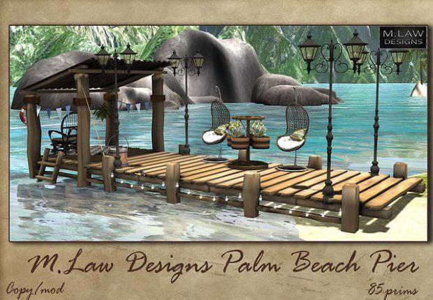 M. Law Designs - Palm Beach Pier