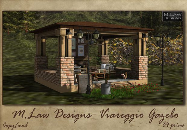M, Law Designs - Viareggio Gazebo