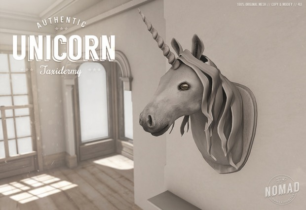 Nomad - Unicorn Taxidermy - Neighbourhood
