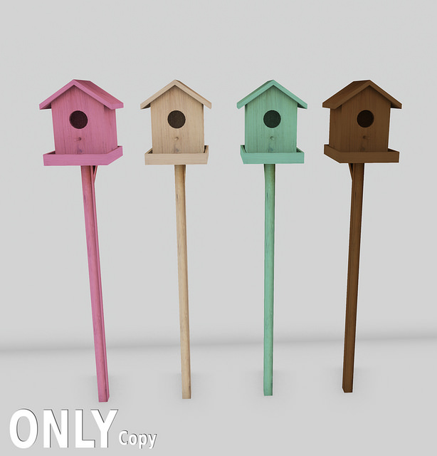 only - birdhouses