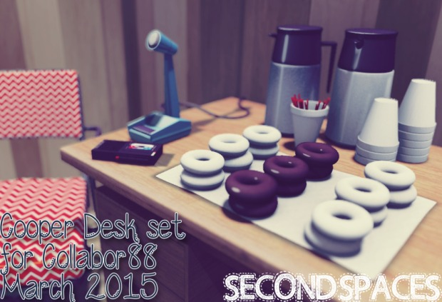 Second Spaces - Cooper Desk set - Collabor88