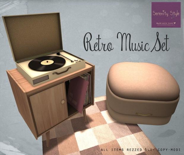 Serenity Style - Retro Music set -