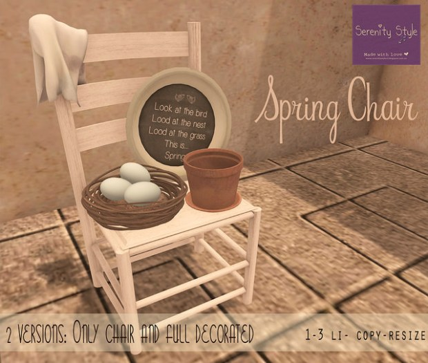 Serenity Style - Spring Chair