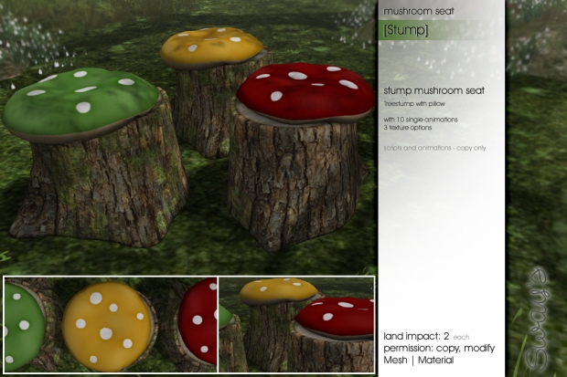 Sway's [Stump]mushroomseat FLF