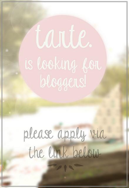 tarte - bloggers