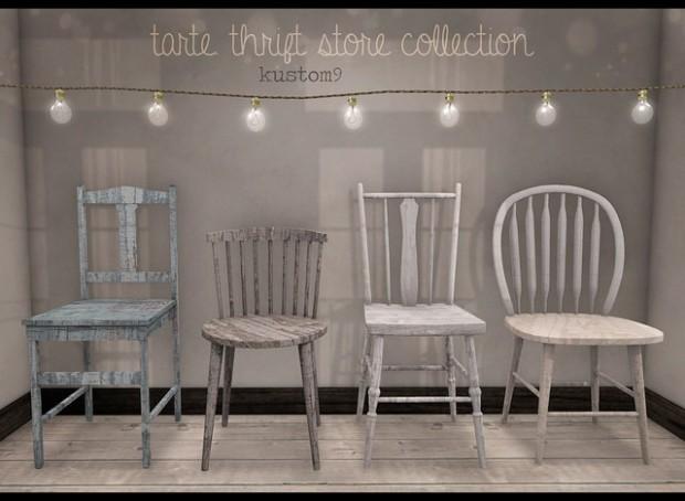Tarte - thrift store collection - kustom 9