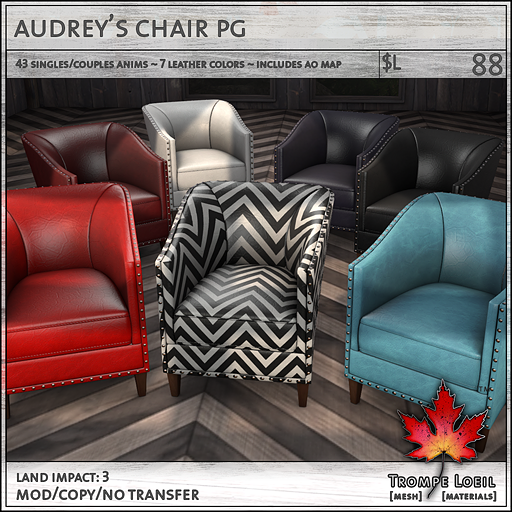 Trompe - Audreys Chair - Collabor88