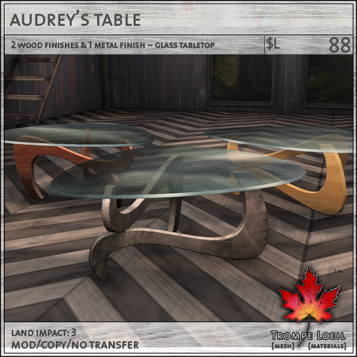 Trompe - Audreys Table - Collabor88