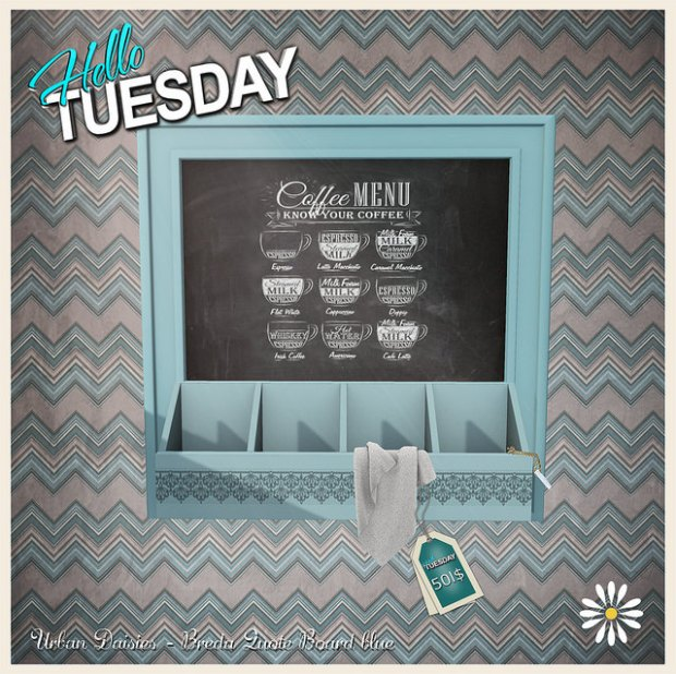 Urban Daisies - Breda Quote Board - HT