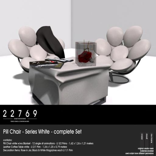 22769 Pill Chair - On9