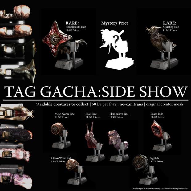 22769 - sideshow - TAG gacha