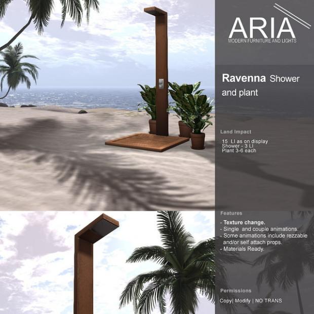 ARIA - Ravenna Shower