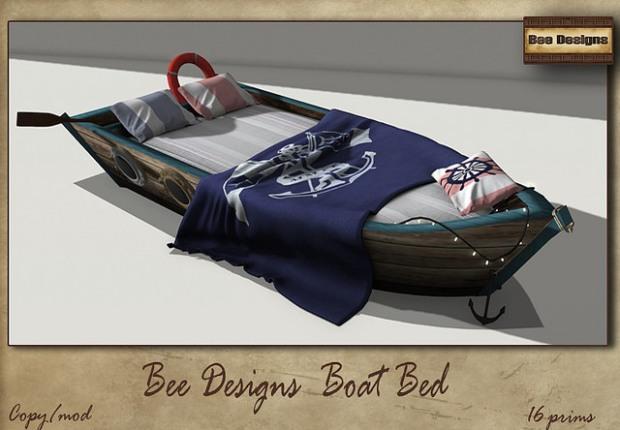 Bee Designs - boat bed - Cosmopolitan