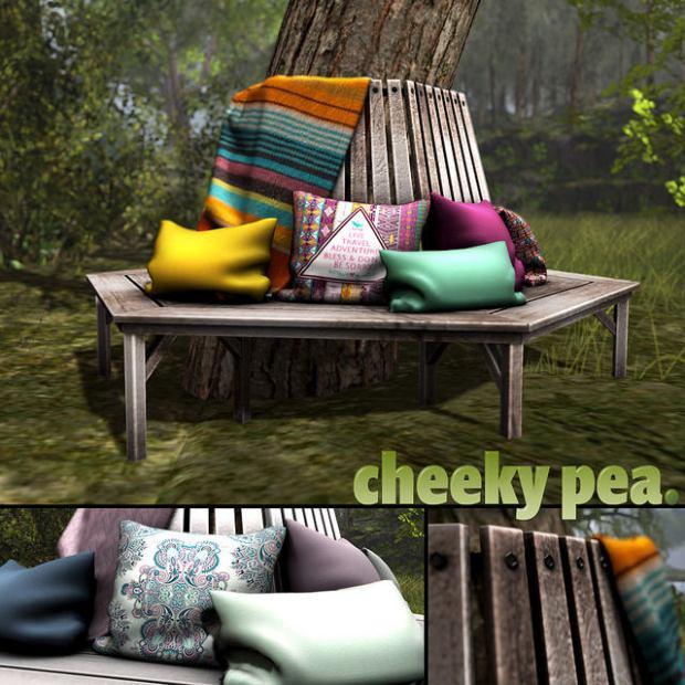 Cheeky Pea - bench - NO21
