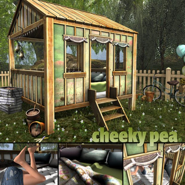Cheeky Pea - Spring Fort - Fameshed