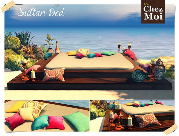 chez moi - sultan bed