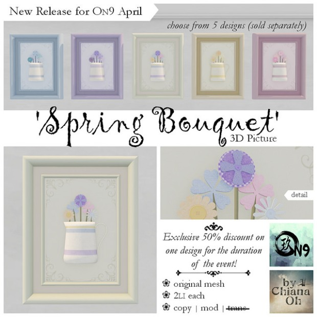 Chiana Oh - Spring Bouquet - ON9