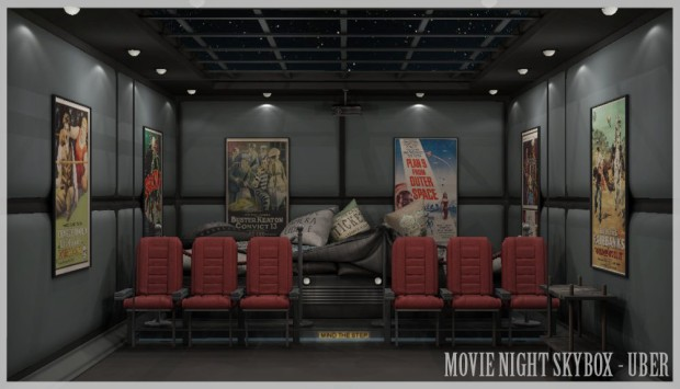 Consignment - movie skybox - Uber