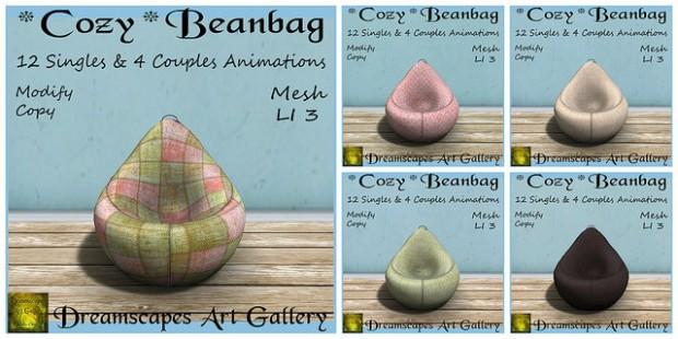 Dreamscapes - Cozy Beanbag