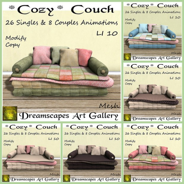 Dreamscapes - Cozy Couch