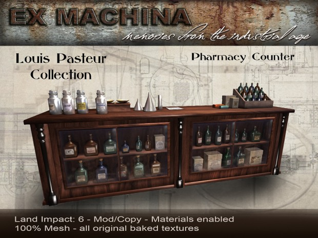 Ex Machina - Pasteur pharmacy counter - Cosmo