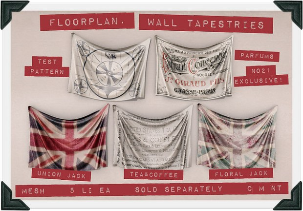 Floorplan - wall tapestries - No21