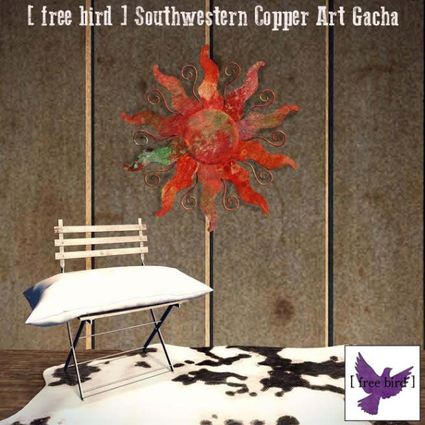 [ free bird ]-Southwestern Copper Art