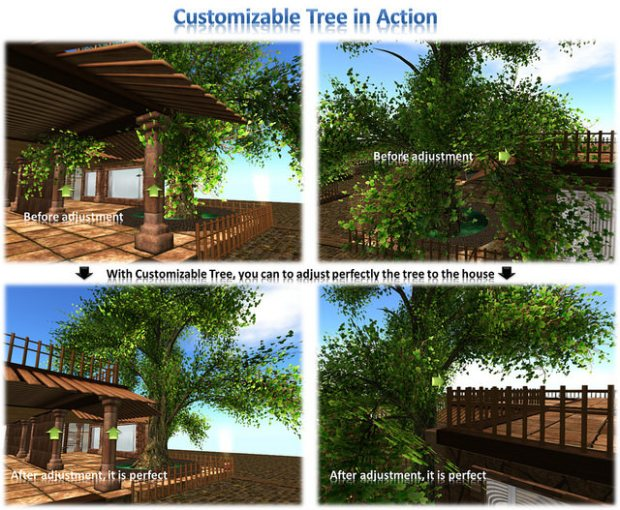 Hayabusa examples customizable tree