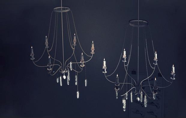 Keke - chandelier - SS