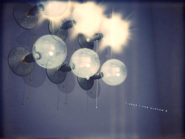 keke - wall bulbs - Kustom 9