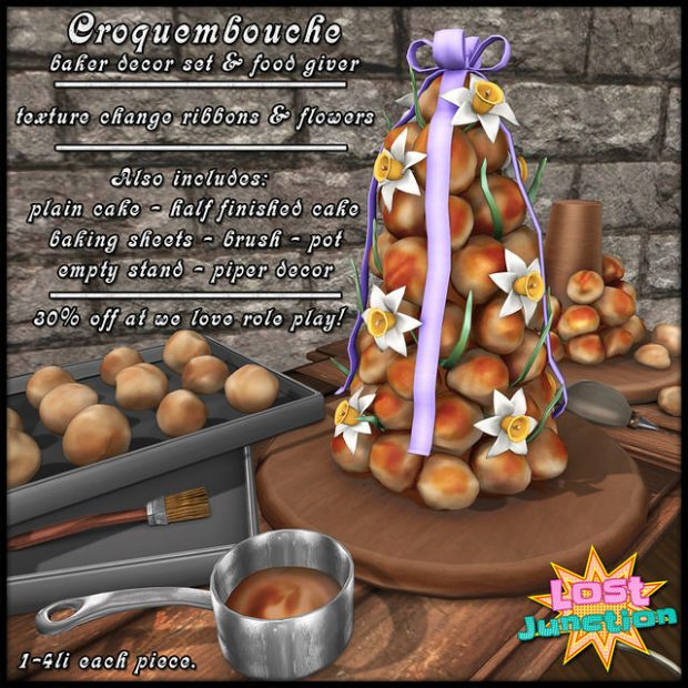 Lost Junction - Croquembouche - we love roleplay