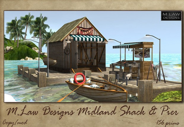 M Law Designs - Midland Shack & Pier