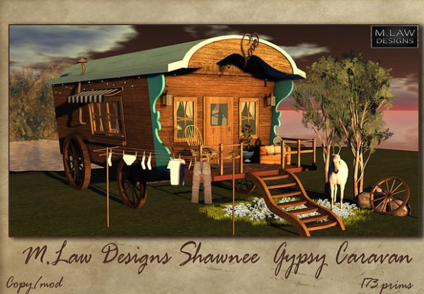 M Law Designs - Shawnee Gypsy Caravan