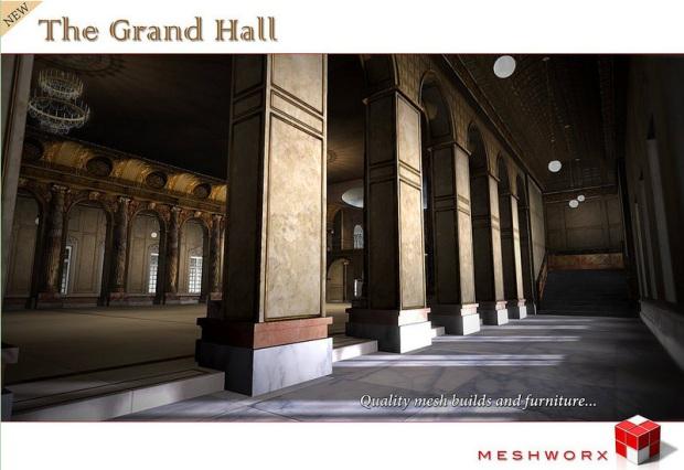 Meshworx - the grand hall