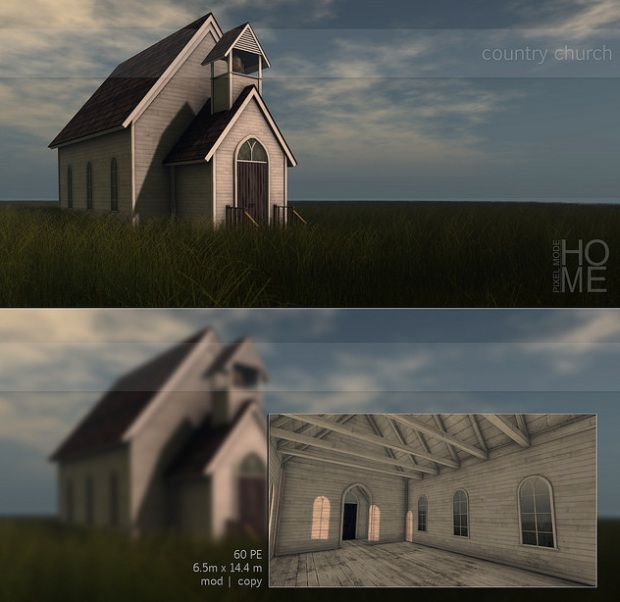 Pixel Mode - Country Church - Fameshed