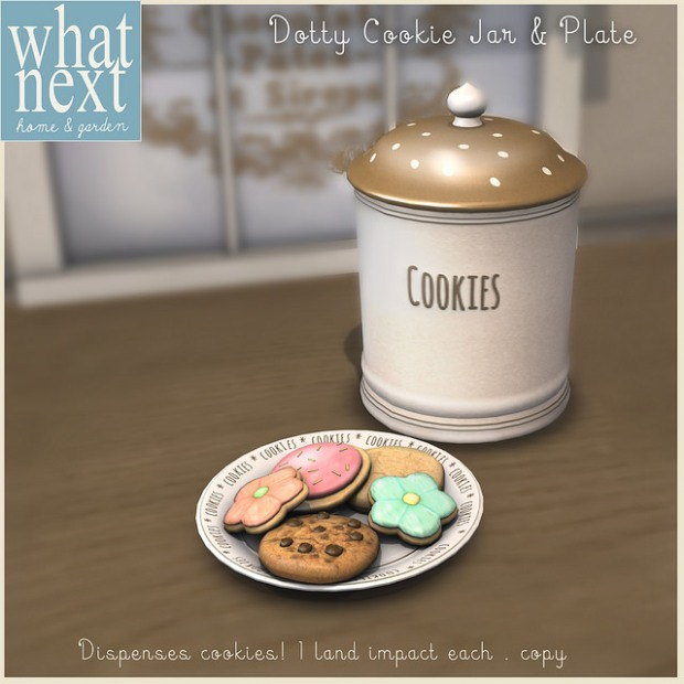 What Next - Dotty Cookie Jar - Wayward