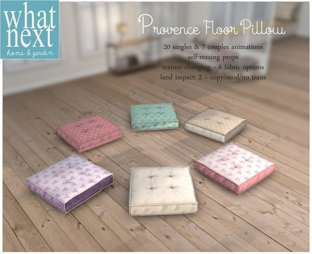 What Next - Provence cushion - FLF