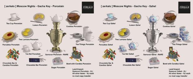 Zerkalo - russian nights gacha - SS