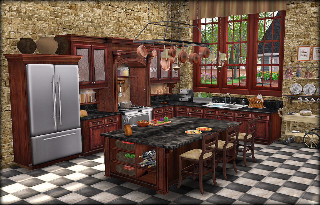 LA GALLERIA UPDATED MESH KITCHENS Love to Decorate SL