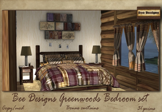 Bee Designs greenwoods_bedroom_set